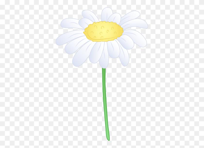 381x550 Daisy Border Clip Art - Free Easter Clip Art Borders