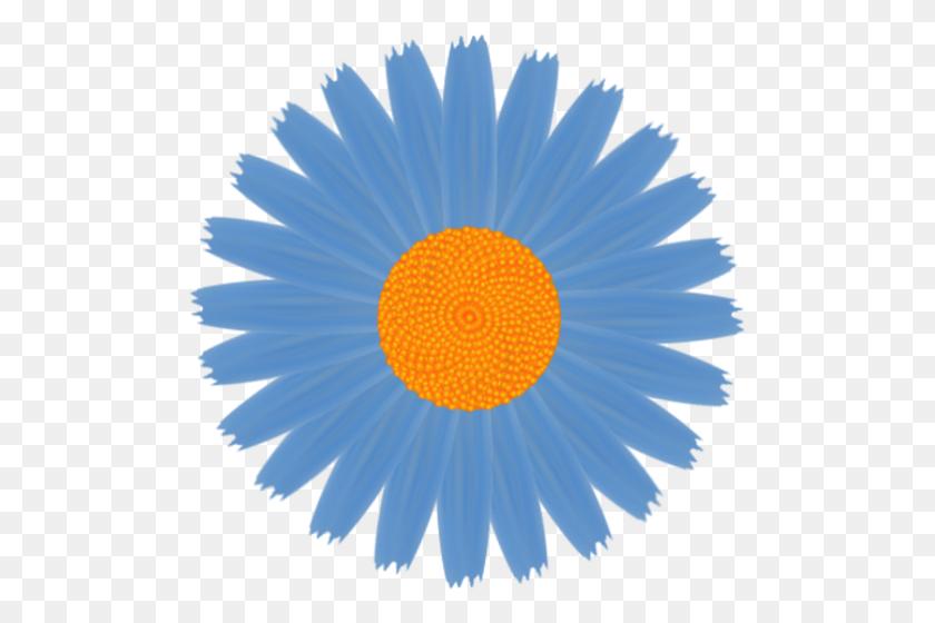 Daisy Clipart Blue Daisy - Daisy Border Clipart