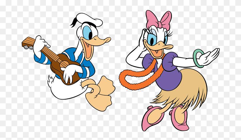 Daisy Clipart Donald Duck - Ukulele Clip Art