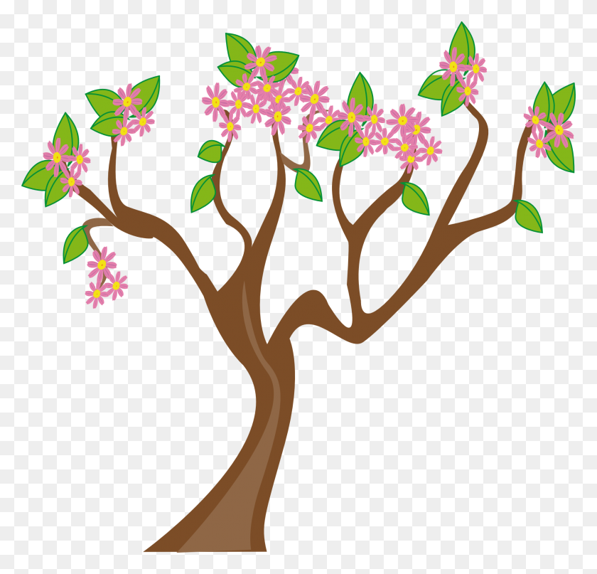 Daisy Clipart Flower Tree - Trees Clipart PNG