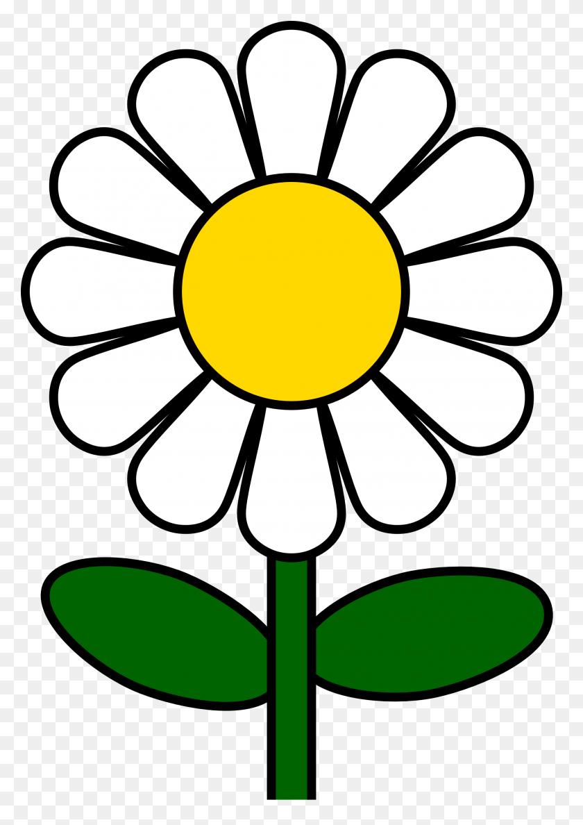 Daisy Flower Clip Art - Cute Flower Clipart