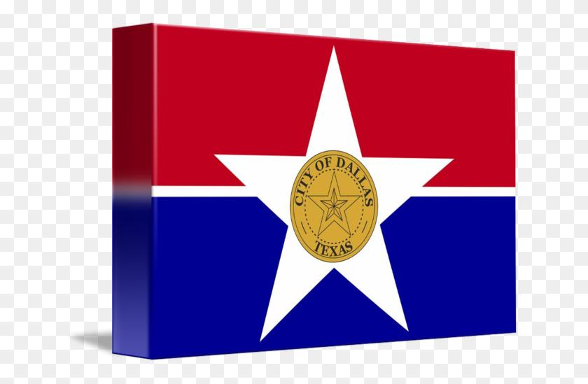 Dallas City Texas Flag - Texas Flag PNG