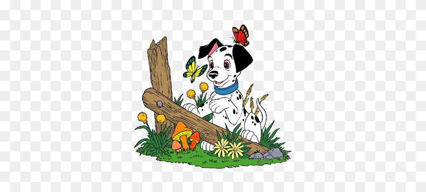 Dalmatians Puppy Clip Art - 101 Dalmatians Clipart