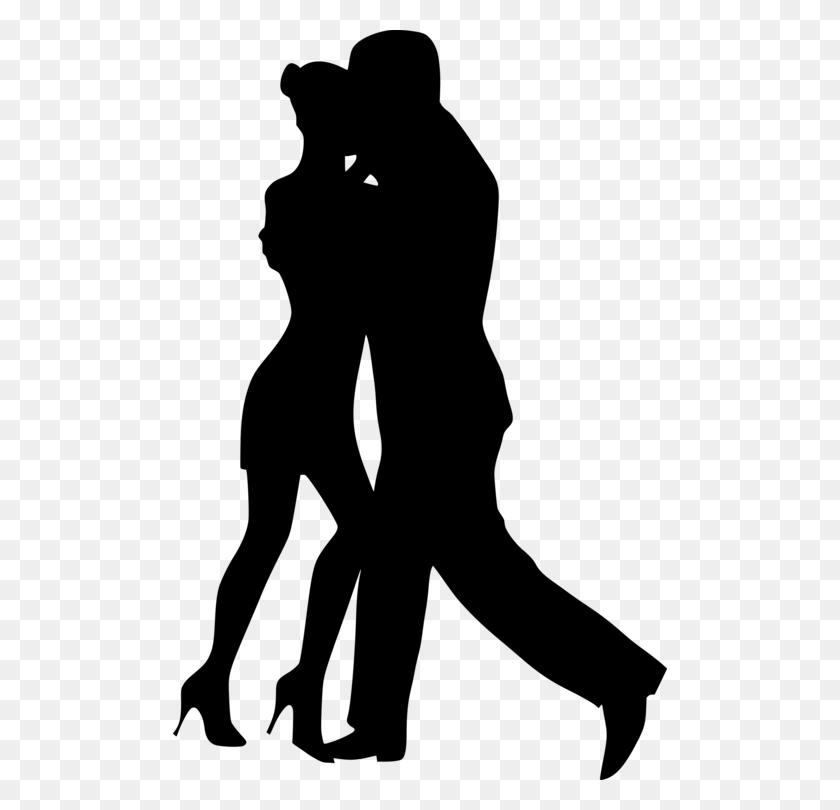Dance Party Drawing Street Dance Silhouette - Swing Dance Clip Art