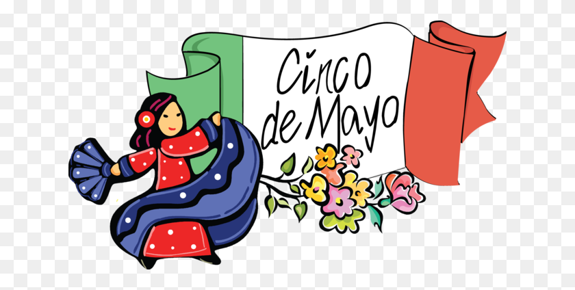 Dancing Clipart Cinco De Mayo - People Dancing Clipart