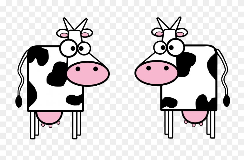 Dancing Cow Cliparts - Milking A Cow Clipart