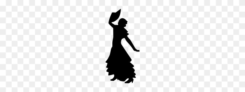 Dancing, Dance, Person, Woman, Silhouettes, Silhouette, Flamenco - People Dancing PNG