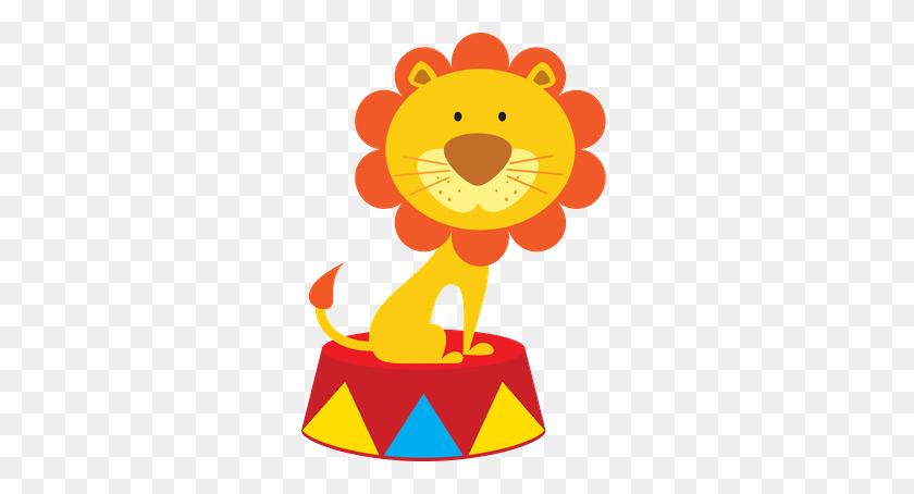 Dani Moraes - Circus Lion Clipart