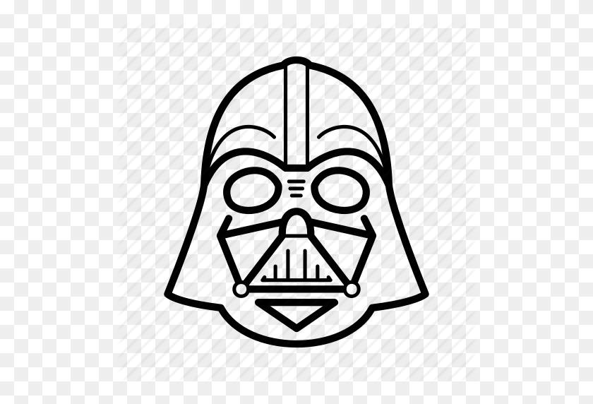 Dark Side, Darth Vader, Helmet, Skywalker, Star Wars, Starwars Icon - Vader PNG
