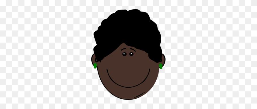 Dark Skin Woman Clip Art - Skin Clipart