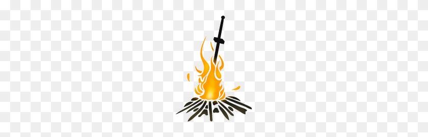 Dark Souls Challenge Run Generator - Dark Souls Bonfire PNG