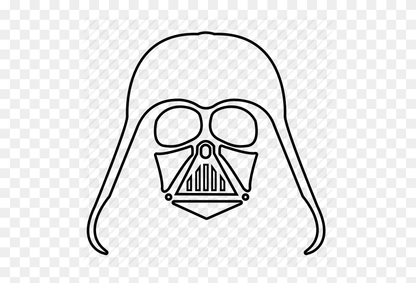Darth Vader, Force, Star Wars, Starwars, The Force, Vader, Vador Icon - Darth Vader Clip Art Free