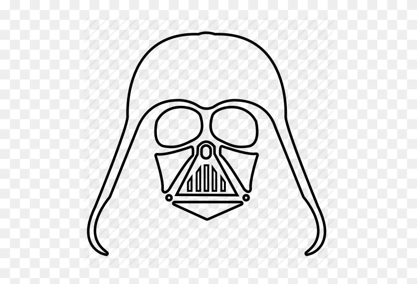 512x512 Darth Vader, Force, Star Wars, Starwars, The Force, Vader, Vador Icon - Darth Vader Clip Art Free