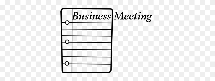 367x256 Date Clipart Church Business Meeting - Meeting Clipart Black And White