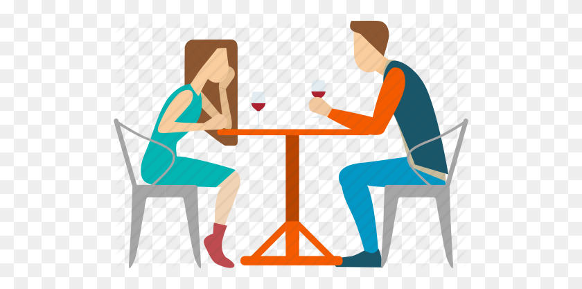 Date Clipart Dinner Date - Date Clipart