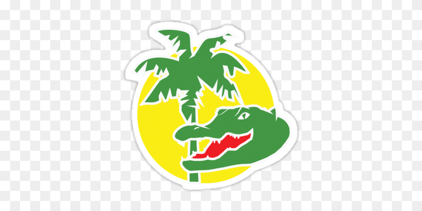 Day Artist Gallery Florida Alligator Logo Sticker Online Store - Florida Gator Clipart