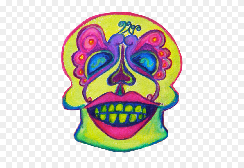 Day Of The Dead Hand Drawn Sugar Skulls Calaveras - Oops Clipart