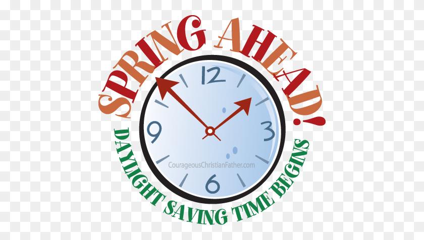450x416 Daylight Savings Spring Forward Clip Art - Free Daylight Savings Time Clipart