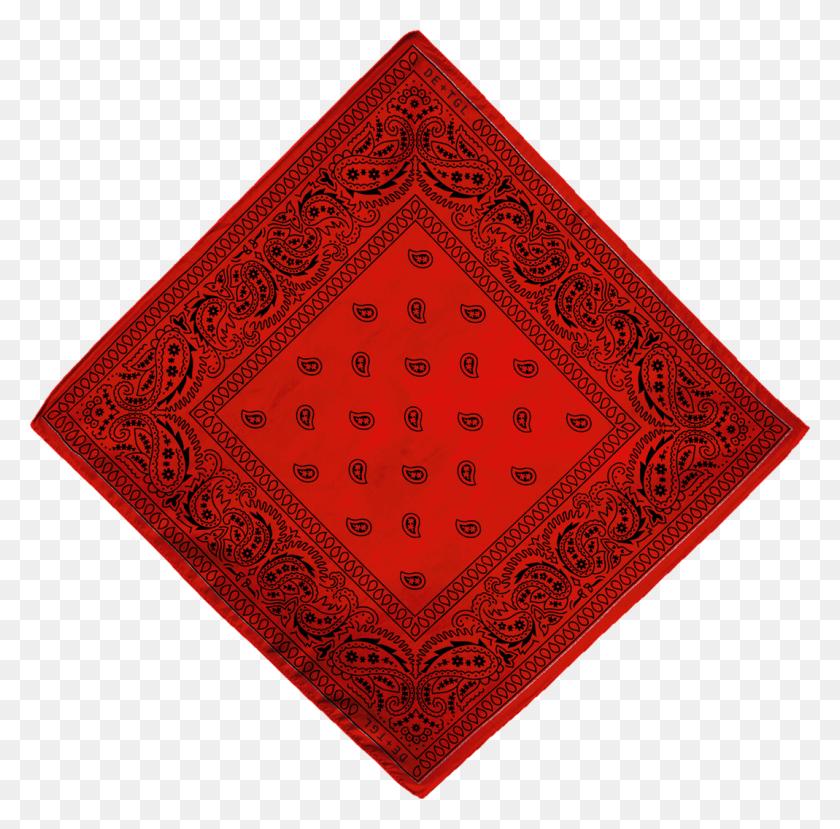 De Tgl Collector's Bandana - Red Bandana PNG