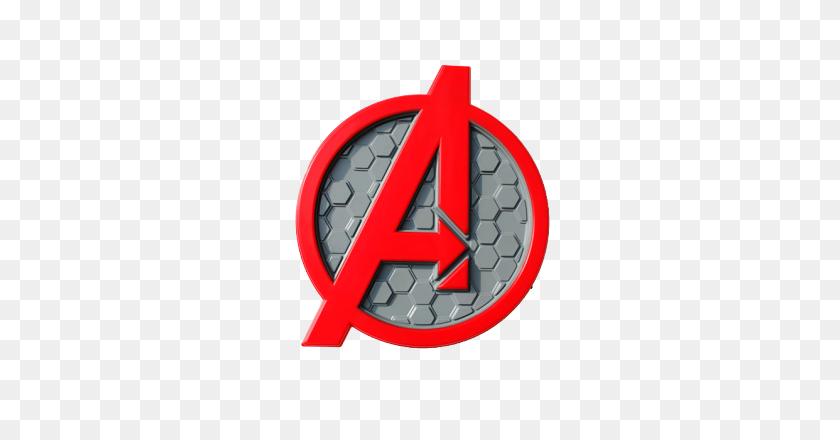 Deals On Light Fx Avengers Logo Deco Light Best Price - Avengers Logo PNG
