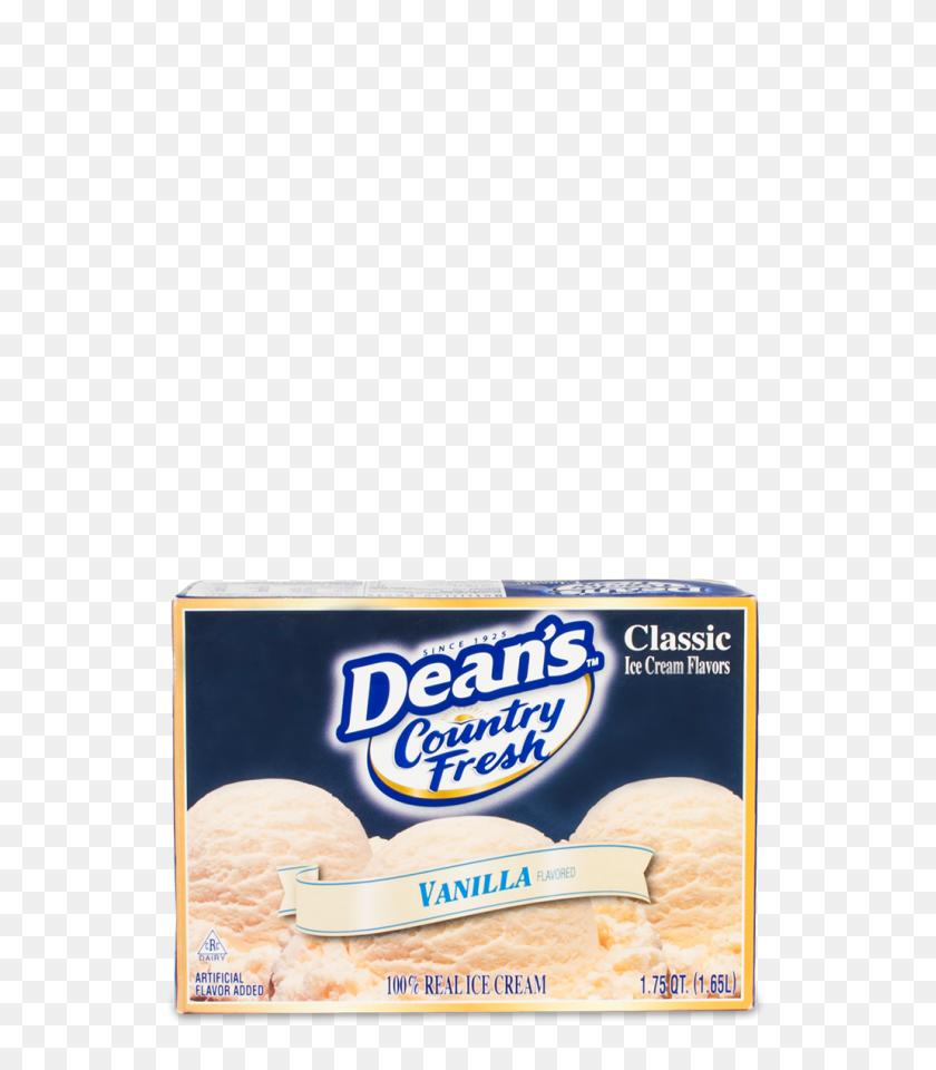 Dean's Country Fresh Classic Vanilla Ice Cream Dean's Dairy - Vanilla Ice Cream PNG