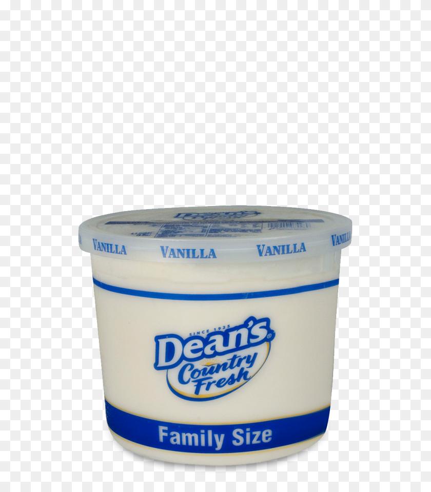 Dean's Country Fresh Vanilla Ice Cream Family Size Pail Reiter Dairy - Vanilla Ice Cream PNG