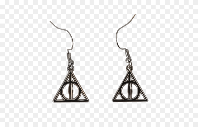 Deathly Hallows Earrings - Deathly Hallows PNG