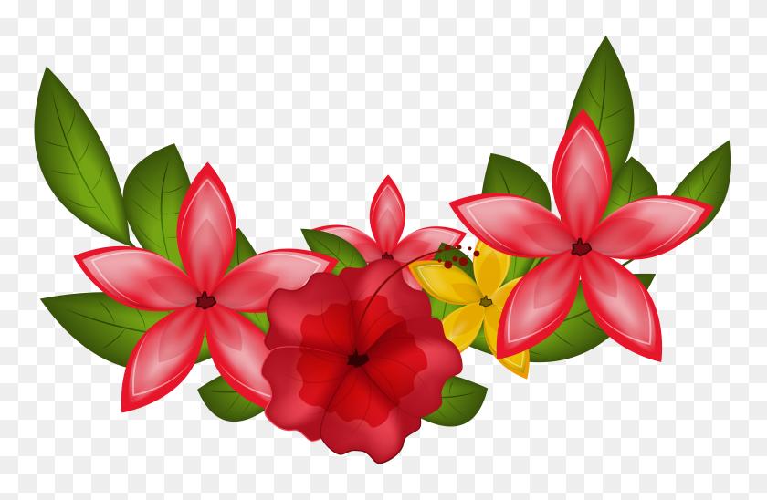 Decoration Clipart Clip Art Flower - Flower Crown Clipart