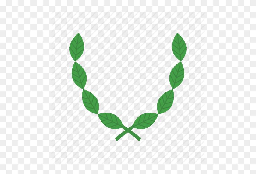 Decoration, Floral, Flower, Frame, Leaf, Organic, Wreath Icon - Leaf Wreath PNG
