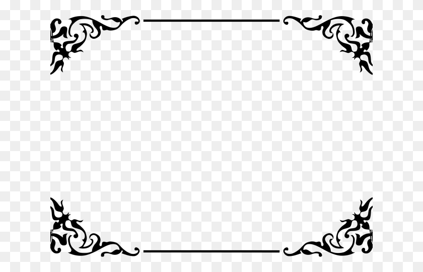 Decoration Clipart Fancy Border Frame - Certificate Borders And Frames -  Free Transparent PNG Clipart Images Download