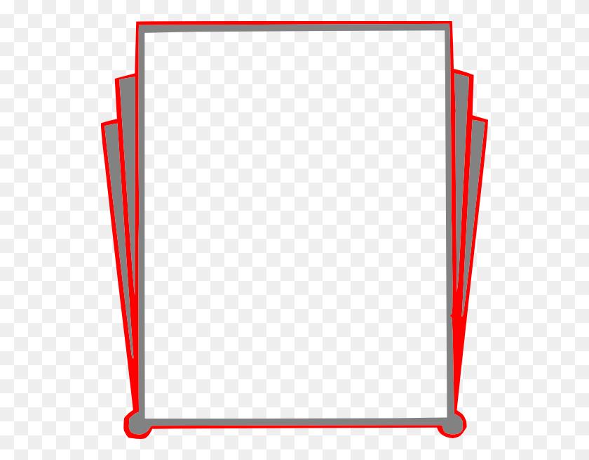 Decorative Border Pages Book Clip Art - Modern Border PNG
