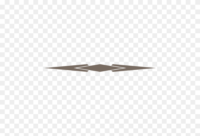 Decorative Cornered Line Divider - Page Dividers PNG