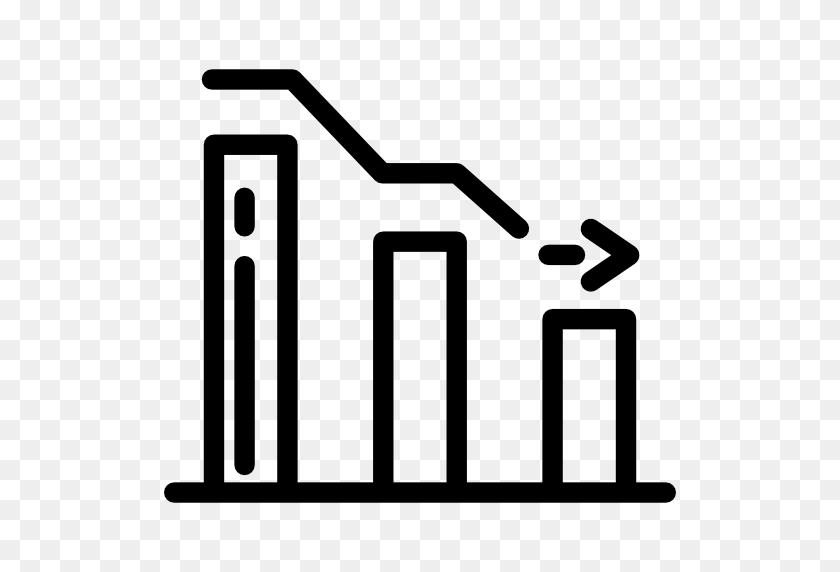 Decreasing, Symbol, Bars Chart, Bars Graphic, Descendant - Clipart Lines And Bars