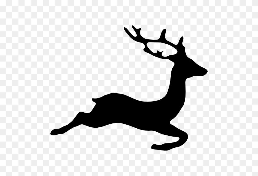 Deer Shape - Deer Silhouette PNG