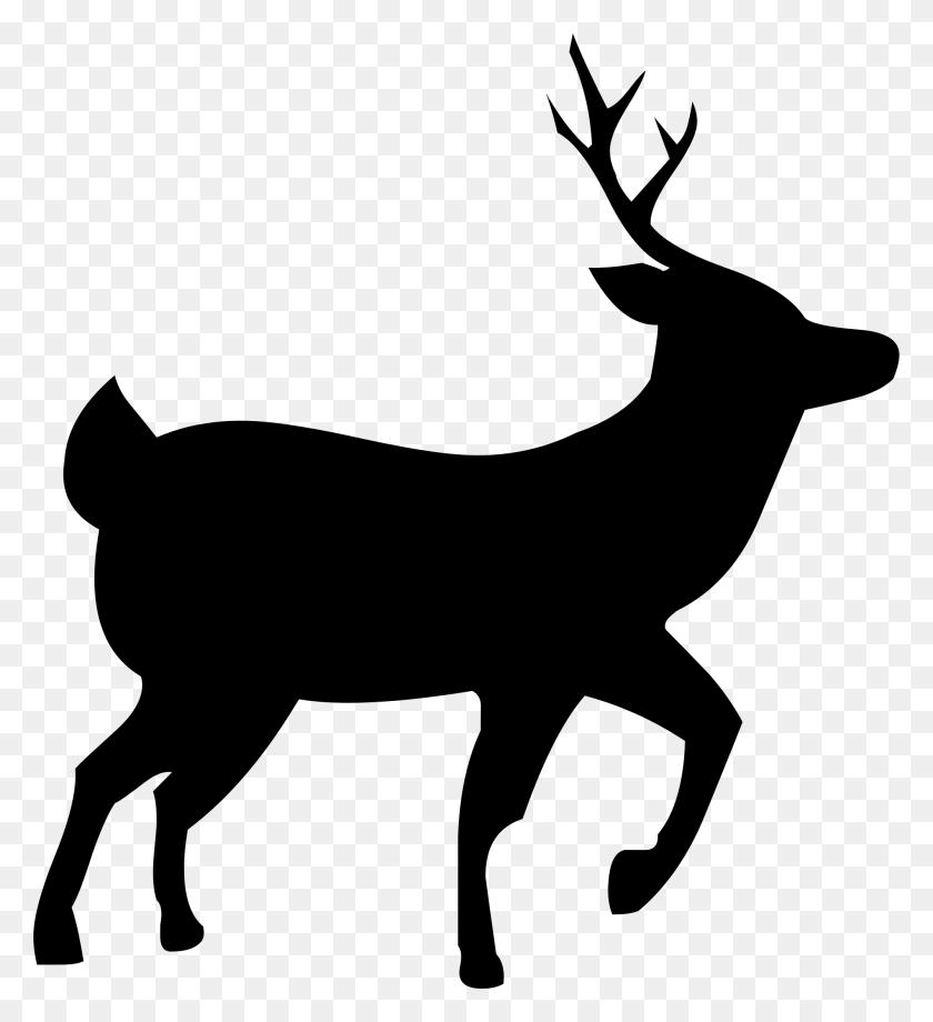 Deer Silhouette Icons Png - Deer Silhouette PNG