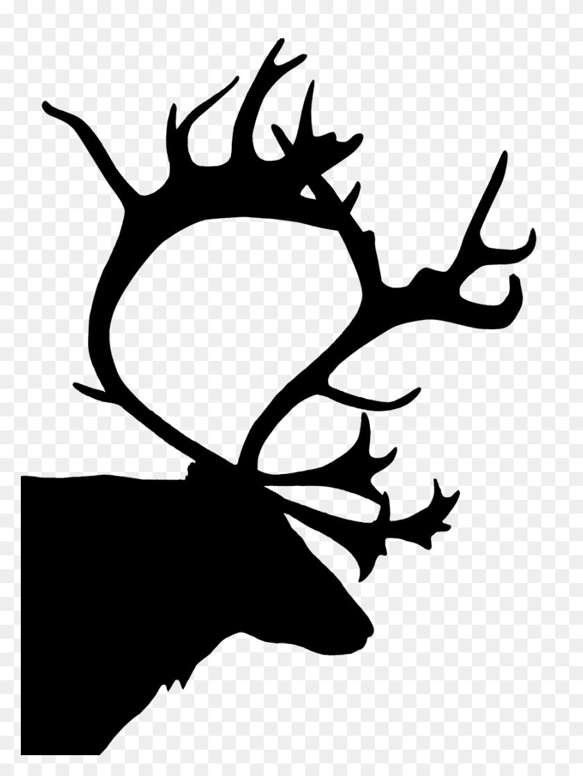 Deer Silhouette Png, Animal Silhouette, Silhouette Clip Art - Deer Head Silhouette PNG