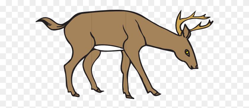 Deer Siluet Pictures Whitetail Deer Silhouette Running Clipart - Deer Silhouette Clip Art