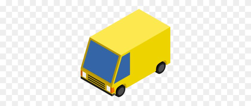 Delivery Van Clipart - Ups Truck Clipart