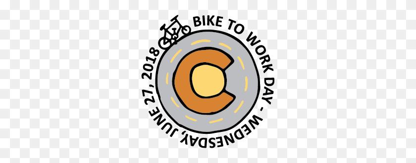 Denver Region Bike To Work Day Apparel - Work Day Clip Art