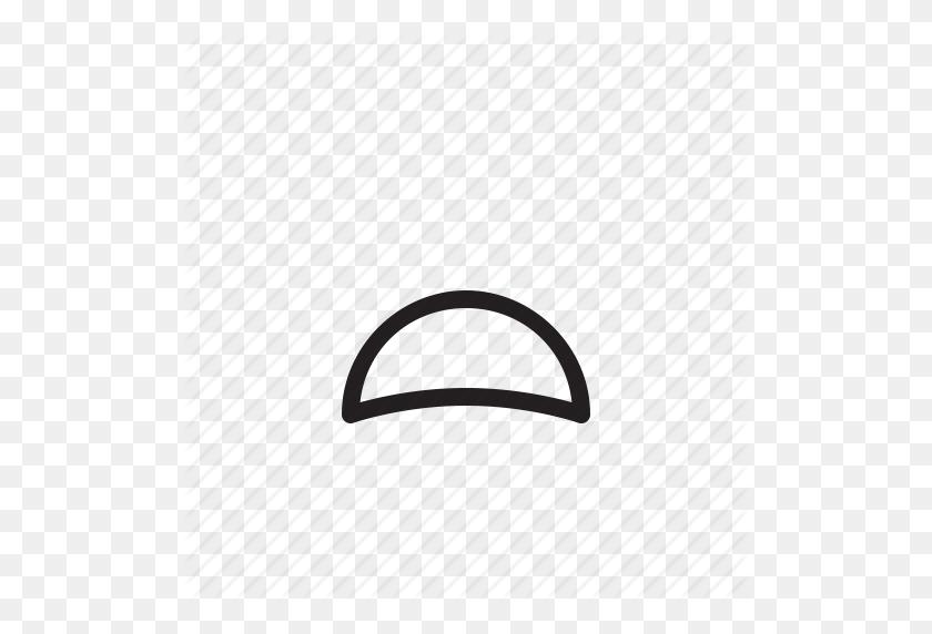 Depressed, Emoji, Expression, Face, Mouth, Sad Icon - Sad Mouth PNG