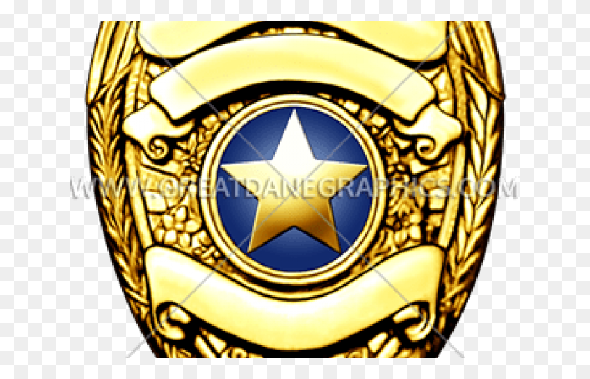 Deputy Badge Cliparts Free Download Clip Art - Police Badge Clipart