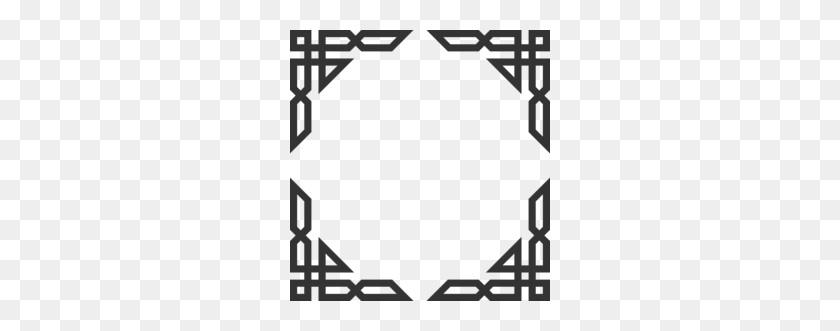Design Motif Clipart - Corner Design Clipart