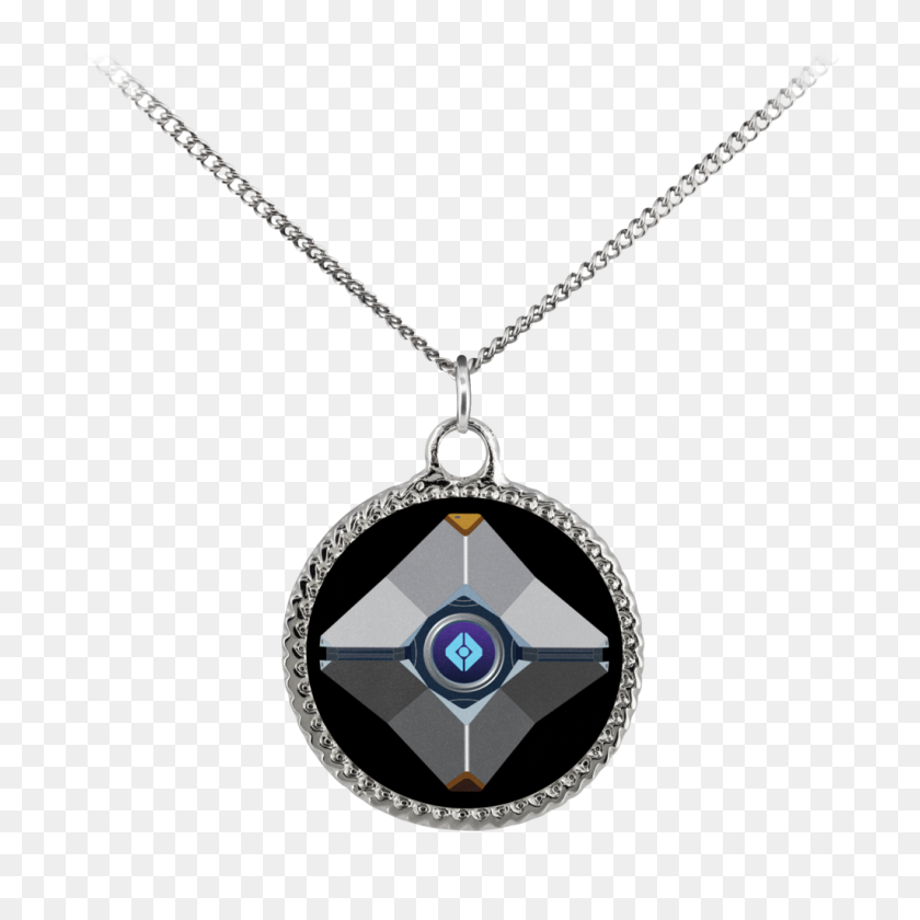 Destiny Ghost Deco Coin Necklace Hangry Gamer Gear Gamer - Destiny Ghost PNG