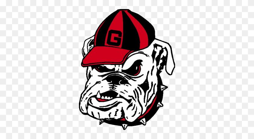 Detail Georgia Bulldog Head Logo Official Psds Cricuit - Georgia Bulldog Clipart