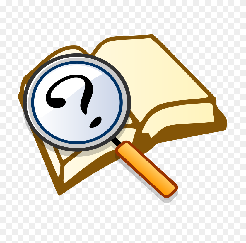 Detective Clipart Close Reading - Clipart Magnifying Glass Detective