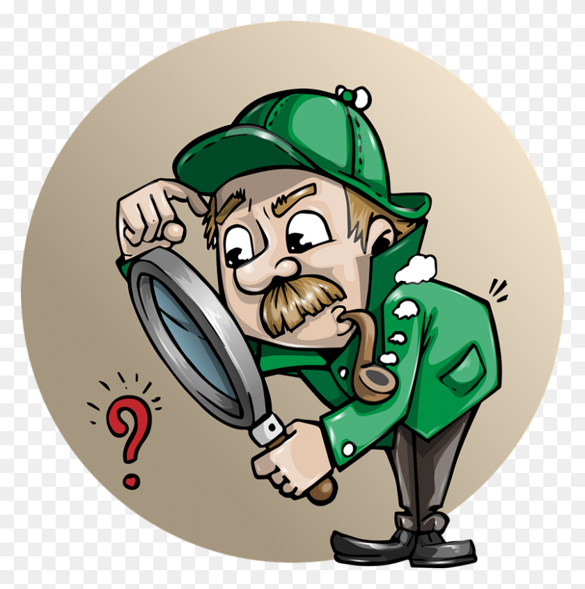 800x808 Detective Clipart Free Images Image - Lupa Clipart