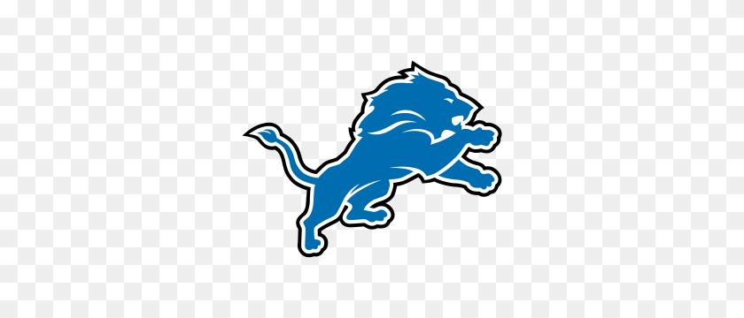 Detroit Lions Stencil Gallery Images - Lion Mascot Clipart