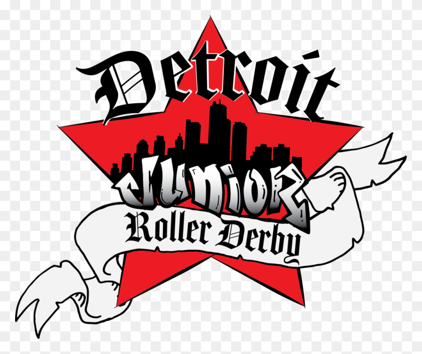 Detroit Roller Derby - Motown Clipart