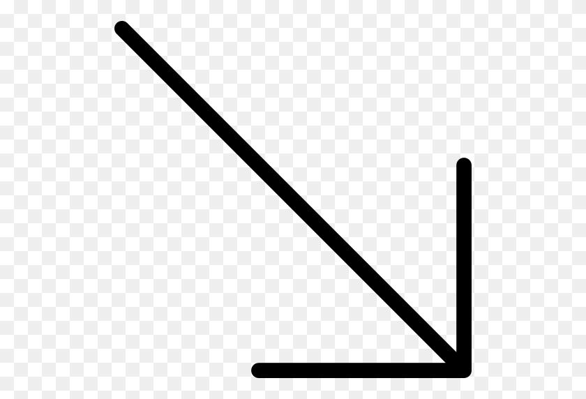 Diagonal Arrow Png Icon - Diagonal Lines PNG