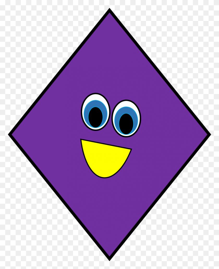 Diamond Shapes Free Clipart - Free Clip Art Shapes